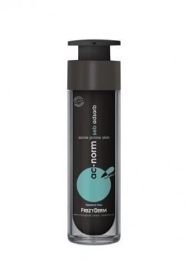 FREZYDERM Ac-Norm Seb Adsorb Cream, Κρέμα Κατά της Γυαλάδας και Ρύθμιση της Λιπαρότητας, 50ml