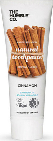 The Humble Natural toothpaste Cinnamon Φυσική Οδοντόκρεμα Mε Γεύση Κανέλλα 75ml
