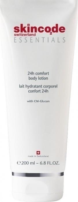 SKINCODE 24h Comfort Body Lotion,  Ενυδατικό Γαλάκτωμα Σώματος, 200ml