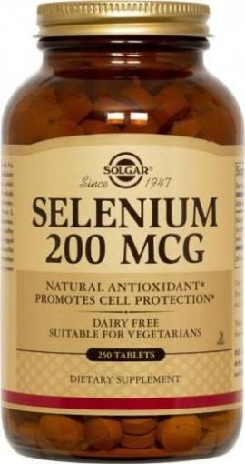 SOLGAR Selenium 200μg, 250Tabs