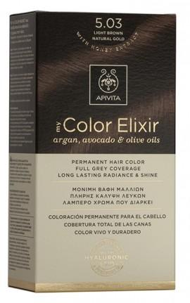 APIVITA My Color Elixir N5.03 Καστανό Ανοιχτό Φυσικό Μελί,125ml
