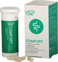 LACTOTUNE Comfort, Συμπλήρωμα Διατροφής Προβιοτικών για Πεπτικές Διαταραχές, 30 κάψουλες