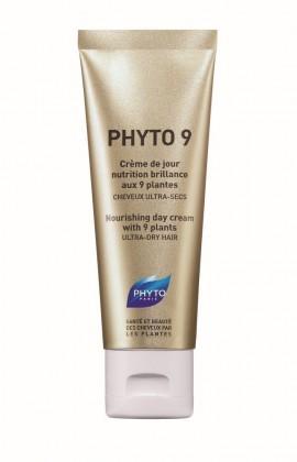 PHYTO PHYTO 9 Κρέμα Ημέρας Θρέψης & Λάμψης Με 9 Φυτά, Πολύ Ξηρά Μαλλιά, 50ml