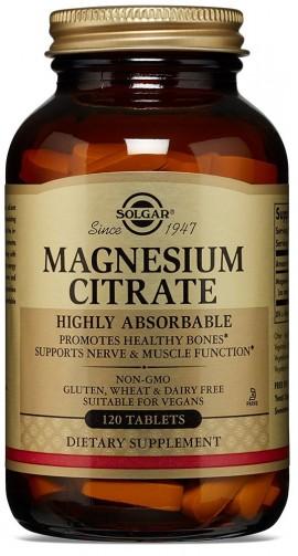 SOLGAR Citrate Magnesium 200mg, 120Tabs