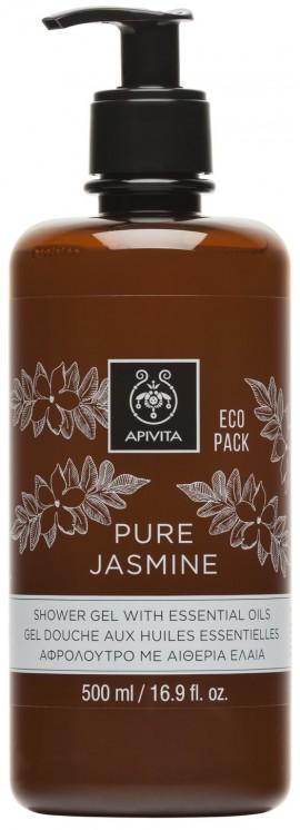 APIVITA Eco Pack Pure Jasmine Αφρόλουτρο με Γιασεμί, 500ml