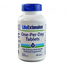Life Extension ONE-PER-DAY (60 ταμπλέτες) Ισχυρή Πολυβιταμίνη