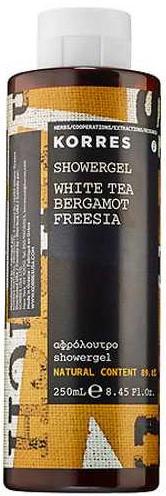 KORRES Αφρόλουτρο White Tea/ Bergamot/ Freesia, 250ml