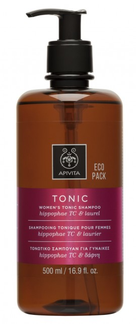 APIVITA Eco Pack Τονωτικό  Σαμπουάν Κατά της Τριχόπτωσης για Γυναίκες με Hippophae TC & Δάφνη, 500ml