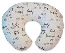 CHICCO Μαξιλάρι Θηλασμού Boppy/63 Λευκό Happy code J63-79902-63