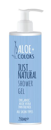 ALOE + COLORS Shower Gel  Just Natural 250ML