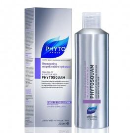 PHYTO Phytosquam Shampoo Hydratant, Αντιπιτυριδικό ενυδατικό σαμπουάν για Ξηρά μαλλιά. Εξαλείφει την πιτυρίδα με αποτέλεσμα που διαρκεί, ενώ εξασφαλίζ …