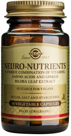 SOLGAR NEURO NUTRIENTS 30VEGCAPS