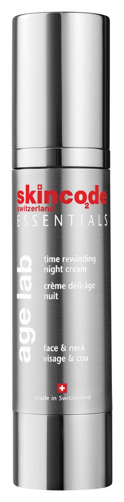 SKINCODE Age-Lab Time Rewinding Night Cream,  Αντιρυτιδική Κρέμα Νύχτας, 50ml