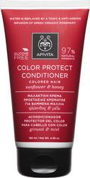APIVITA Κρέμα Προστασίας Χρώματος για Βαμμένα Μαλλιά με Ηλίανθο & Μέλι, 150ml