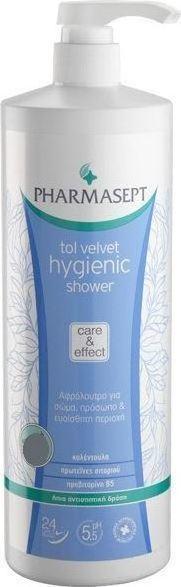 PHARMASEPT,  Tol Velvet Hygienic Shower, Ενυδατικό Αφρόλουτρο Για Το Σώμα Και Την Ευαίσθητη Περιοχή, 500ml