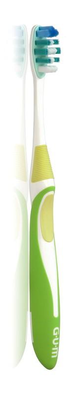 GUM Activital Compact Soft (581) Οδοντόβουρτσα μαλακή με πολύ λεπτές μικρο-ίνες για απομάκρυνση της πλάκας και μείωση της ουλίτιδας (τεμάχιο 1)