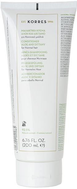 KORRES Conditioner με Αλόη & Δίκταμο, 200ml