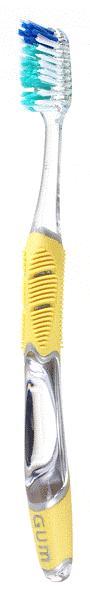 GUM Technique Full Medium (492)  Οδοντόβουρτσα μέτρια για βαθειά αφαίρεση της πλάκας (τεμάχιο 1)