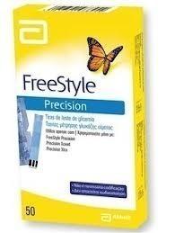 Freestyle Precision Extra Plus Ταινίες Μέτρησης Γλυκόζης, 50τμχ